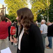 Sanja Vištica i Vlč. Ivan Grbešić (Foto: Dnevnik.hr) - 1