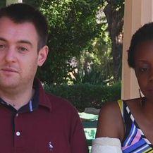 Vjenčali se pet dana nakon napad krokodila (Foto: screenshot/Reuters) - 3