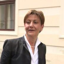 Martina Dalić nije bila raspoložena za novinarska pitanja (Video: Dnevnik.hr)