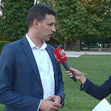 Božo Petrov i Paula Klaić Saulačić (Foto: Dnevnik.hr)