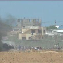 Prosvjedi uz ogradu pojasa Gaze (Video: Reuters)