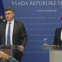 Andrej Plenković i Martina Dalić (Foto: dnevnik.hr)