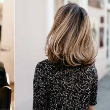 Kosa prije i poslije tretmana Instant Highlights