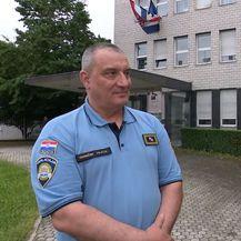 Načelnik Uprave za granicu Zoran Ničeno i Andrija Jarak  (Foto: Dnevnik.hr)