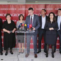 Izvanredni povjerenik Fabris Peruško i članovi Privremenog vjerovničkog vijeća (Foto: Tomislav Miletic/PIXSELL)