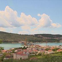 Na gradilištu čiovskog mosta (Video: Dnevnik Nove TV)