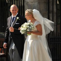 Zara Phillips u vjenčanici Stewarta Parvina