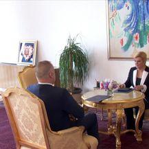 Predsjednica se sastala sa šefom SOA-e (Video: Dnevnik Nove TV)