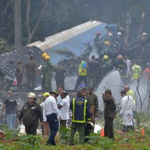 Pad aviona na Kubi (Foto: AFP) - 2