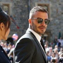 Victoria Beckham sa suprugom Davidom Beckhamom na kraljevskom vjenčanju