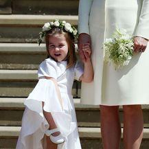 Catherine Middleton i princeza Charlotte na vjenčanju Meghan Markle i princa Harryja
