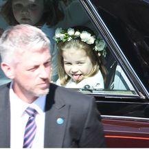 Princeza Charlotte na vjenčanju Meghan Markle i princa Harryja - 4