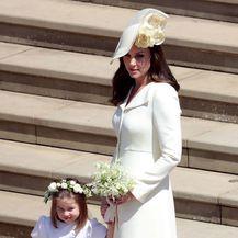 Princeza Charlotte na vjenčanju Meghan Markle i princa Harryja - 7