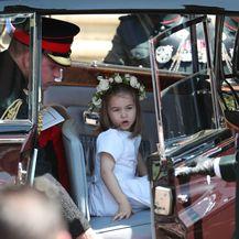 Princeza Charlotte na vjenčanju Meghan Markle i princa Harryja - 8