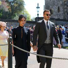 David Beckham na vjenčanju Meghan Markle i princa Harryja - 8