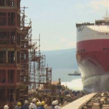 Porinuće broda u brodogradilištu 3. maj (Foto: Dnevnik.hr) - 1