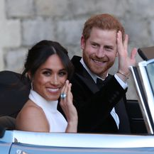 Princ Harry i Meghan Markle (Foto: AFP) - 1