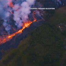 Vulkan Kilauea i dalje izbacuje lavu i pepeo koji ugrožavaju Havajce (Screenshot Reuters)
