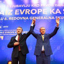 Bakir Izetbegović i Recep Tayyip Erdogan (Foto: AFP)