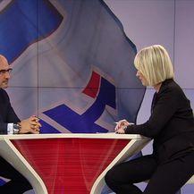 Milijan Brkić za Dnevnik Nove TV otkrio je u čijim rukama je sudbina Andreja Plenkovića (Video: Dnevnik Nove TV)
