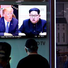 Donald Trump i Kim Jong Un (Foto: Getty Images)