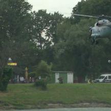 Helikopter na Jarunu (Foto: Dnevnik.hr)