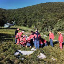 Akcija spašavanja planinarke na Velebitu (Foto: GSS) - 2