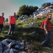 Akcija spašavanja planinarke na Velebitu (Foto: GSS) - 4