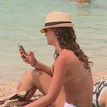 Makarska dobila turističku plažu - Nugal (Video: Dnevnik Nove TV)