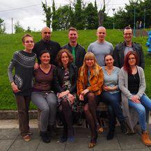 Istraživačka grupa sa Zavoda za molekularnu biologiju Biološkog odsjeka zagrebačkog PMF-a (Foto: Privatni album)