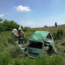 Prometna nesreća (Foto: Informativni centar Virovitica)