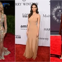 Razni modeli takozvanih golih haljina