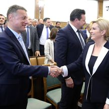 Gordan Jandroković i Kolinda Grabar-Kitarović, arhiva (Foto: Patrik Macek/PIXSELL)