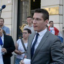 Zvonimir Troskot, predstavnik Inicijative \'\'Narod odlučuje (Foto: Dalibor Urukalovic/PIXSELL)