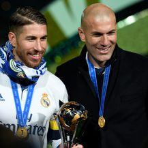 Sergio Ramos i Zinedine Zidane (Foto: AFP)