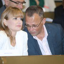 Bruna Esih, Zlatko Hasanbegović (Foto: Sanjin Strukic/PIXSELL)