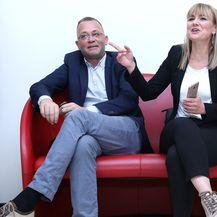 Bruna Esih i Zlatko Hasanbegović (Foto: Patrik Macek/PIXSELL)