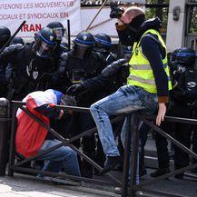 Prosvjedi u Parizu (Foto: AFP)