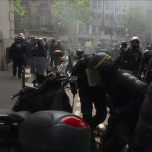 Nasilje u Parizu (VIDEO: Reuters)