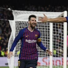 Lionel Messi i Luis Suarez (Foto: AFP)
