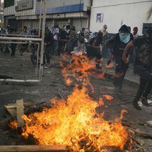 Caracas, prosvjed (Foto: CRISTIAN HERNANDEZ / AFP)