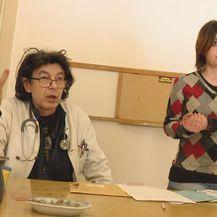 Doktor Goran Jusup i Veronika Peccolaj (Foto: Provjereno Nova TV)
