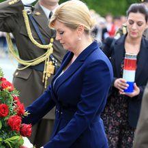 Predsjednica Kolinda Grabar-Kitarović u Vukovaru (Foto: Davor Javorovic/PIXSELL)