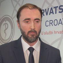 Krešimir Luetić, vršitelj dužnosti predsjednika Liječničke komore (Foto: Dnevnik.hr)