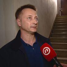 Denis Grudelj, upravitelj zgrade u Prečkom u kojoj je došlo do eksplozije (Foto: Dnevnik.hr)