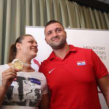 Sandra Perković i Edis Elkasević (Foto: Željko Lukunic/PIXSELL)