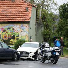 Prometna nesreća u Zagrebu (Foto: Ivan Rebic/PIXSELL - 3