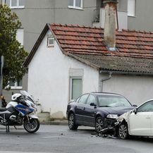 Prometna nesreća u Zagrebu (Foto: Ivan Rebic/PIXSELL - 4