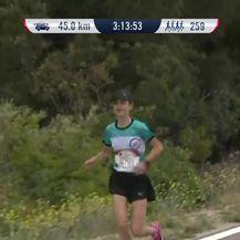 Ines Jozić istrčala je 49 kilometara (VIDEO: Dnevnik.hr)