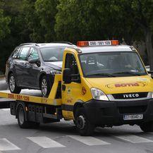 Prometna nesreća u Splitu (Foto: Ivo Cagalj/PIXSELL) - 4
